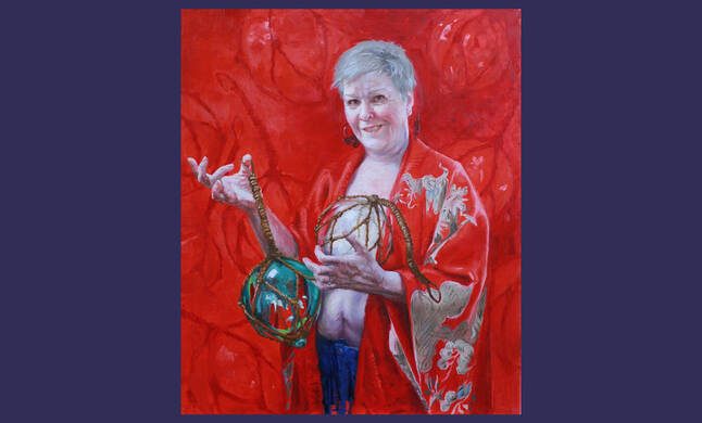 Living Figuratively tours women's art show at Ursuline