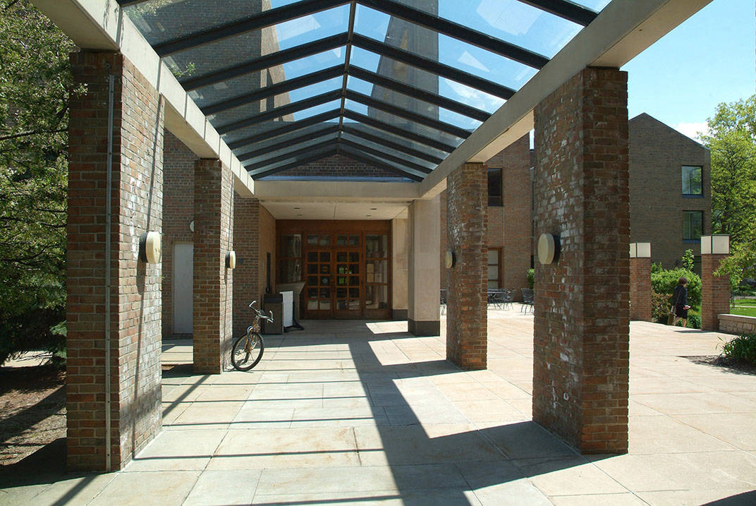 Covered Walkway at Ursuline College
