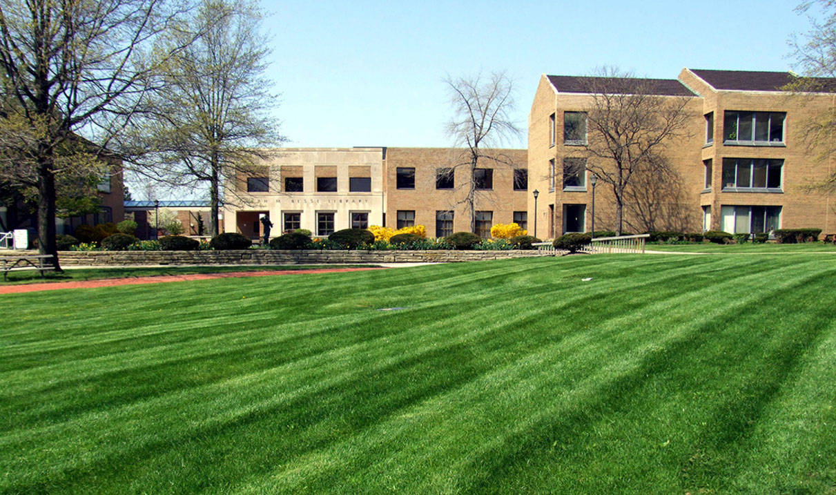 The Quad Lawn at Ursuline College