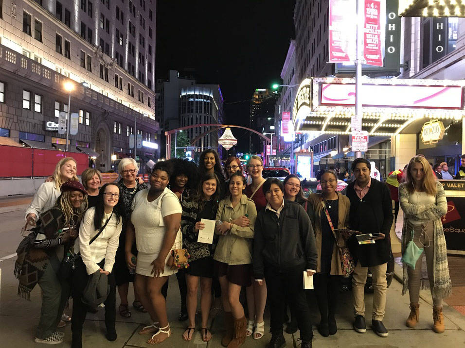 Ursuline Students enjoy Cleveland's Playhouse Square