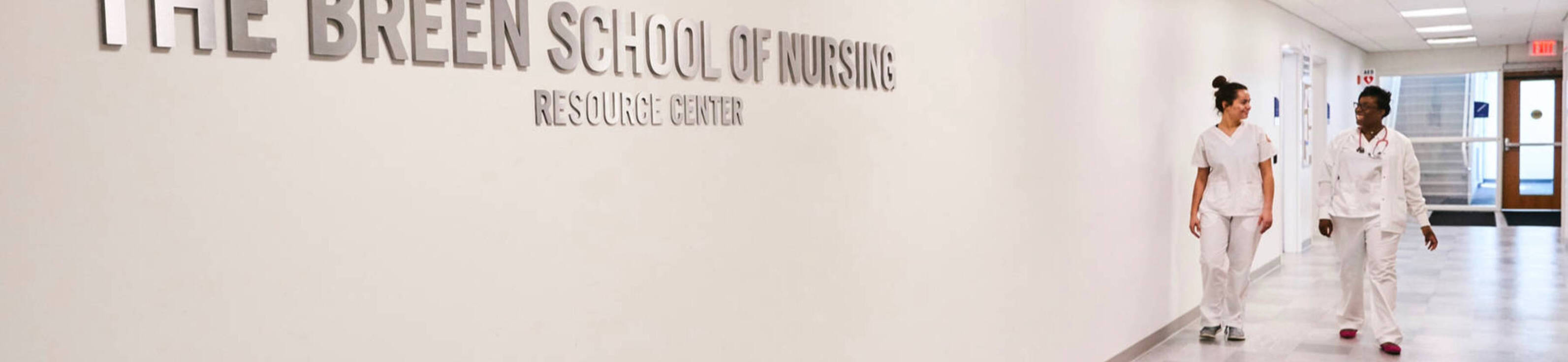 Nursing students at ursuline college