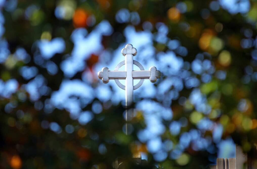 Ursuline college campus ministry crucifix