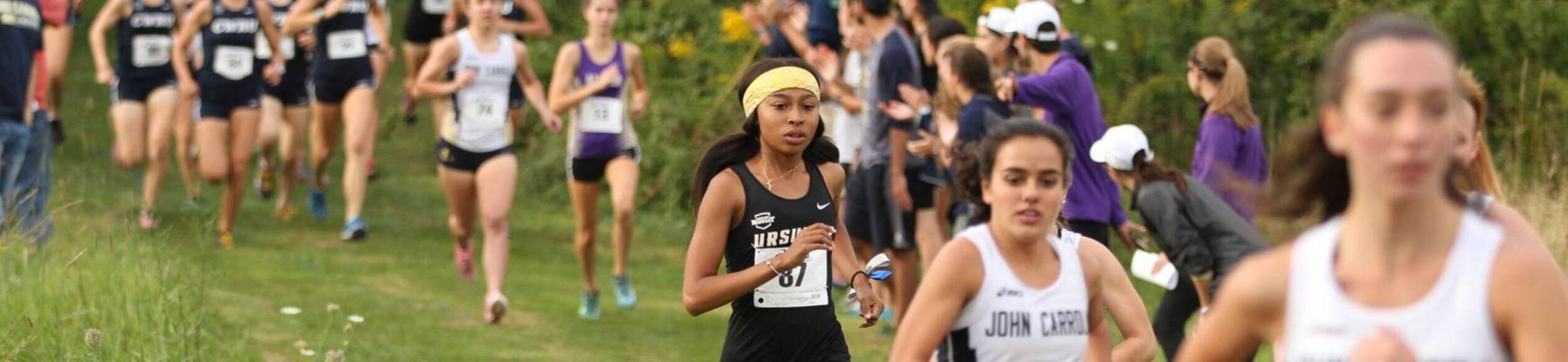 Ursuline college cross country runner