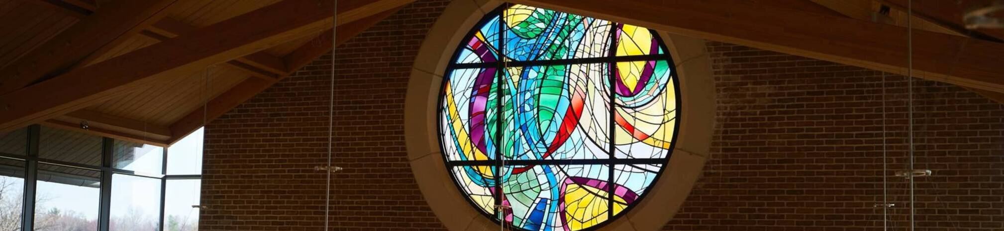 Ursuline college stained glass window2